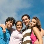 High School Teenagers — Stock Photo #8353469