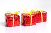 Gift boxes — ストック写真
