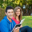 Student with Text Book — Stock Photo #8500240
