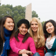 Stock Photo: Female College students