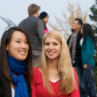 Female College students — Stock Photo