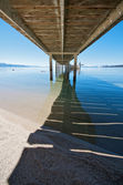 Underneath the Pier — Stock Photo