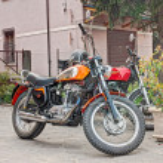 Постер, плакат: Vintage motorcycle Ducati