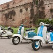 Stock Photo: Old italian scooters