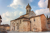Cathedral of San Quirico d'Orcia — Stock Photo