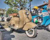 Старинные итальянские скутеры — Стоковое фото