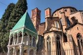 Church of S. Francesco in Bologna — Stock Photo