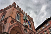 Old palace in Bologna — Stock Photo