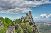 Fortress of San Marino — Stock Photo