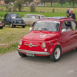 Vintage Fiat 500 Abarth — Stock Photo
