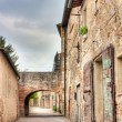 Old alley in Tuscany — Stock Photo #10516881