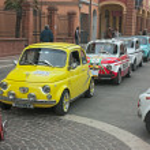 Постер, плакат: Vintage Fiat 500