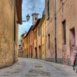 Alley in the old town — Stock Photo