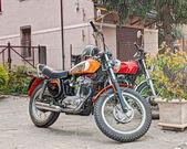 Vintage motorcycle Ducati — Stock Photo
