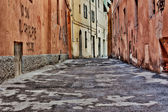 旧市街の路地 — ストック写真