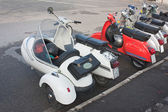 Lambretta sidecar — Stock Photo