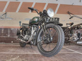 Old motorcycle BSA W35-7 (1935) — Stock Photo