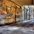 Dirty lane in the old town — Stock Photo #8240285