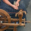 Old spinning wheel — Photo #8375774