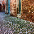Stock Photo: Alley in old town