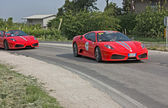 Ferrari hyllning till mille miglia — Stockfoto