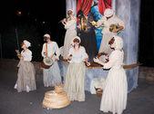 Neapolitan musical show — Stock Photo