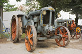 Old tractor Landini — Stock Photo