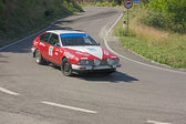 Akfasud at rally Colline di Romagna — Stock Photo