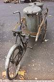 Old pedal cart — Stock Photo