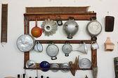 Old kitchen equipment — Stock Photo
