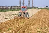 Soil preparation — Stock Photo