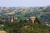 Italian hills — Stock Photo