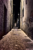 Old town at night — Fotografia Stock