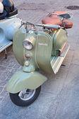 Old italian scooter — Stock Photo