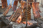 Argentinian asado — Stock Photo