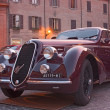 Постер, плакат: Old car Alfa Romeo