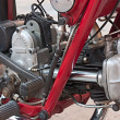 Постер, плакат: Old motorcycles engine