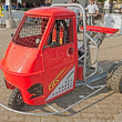 Stock Photo: Ape Piaggio tuned