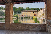 Bagno Vignoni — Stock Photo