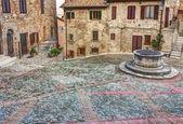Old italian town — Stock Photo