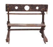 Medieval pillory — Stock Photo