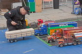 Truck modeling — Stock Photo