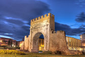 Rimini, the arch of Augustus — ストック写真