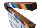Clapperboard stretch — Stock Photo