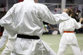 Karate kata — Stock Photo