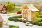 Euro house scenery — Stock Photo