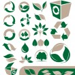 Environmental icons set — Stock Vector