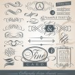 Royalty-Free Stock Vector Image: Calligraphy design elements