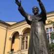 John Paul the second in Cracow — Stock Photo
