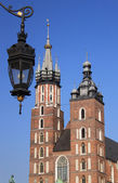 Cracow - historical capital of Poland — Stock Photo